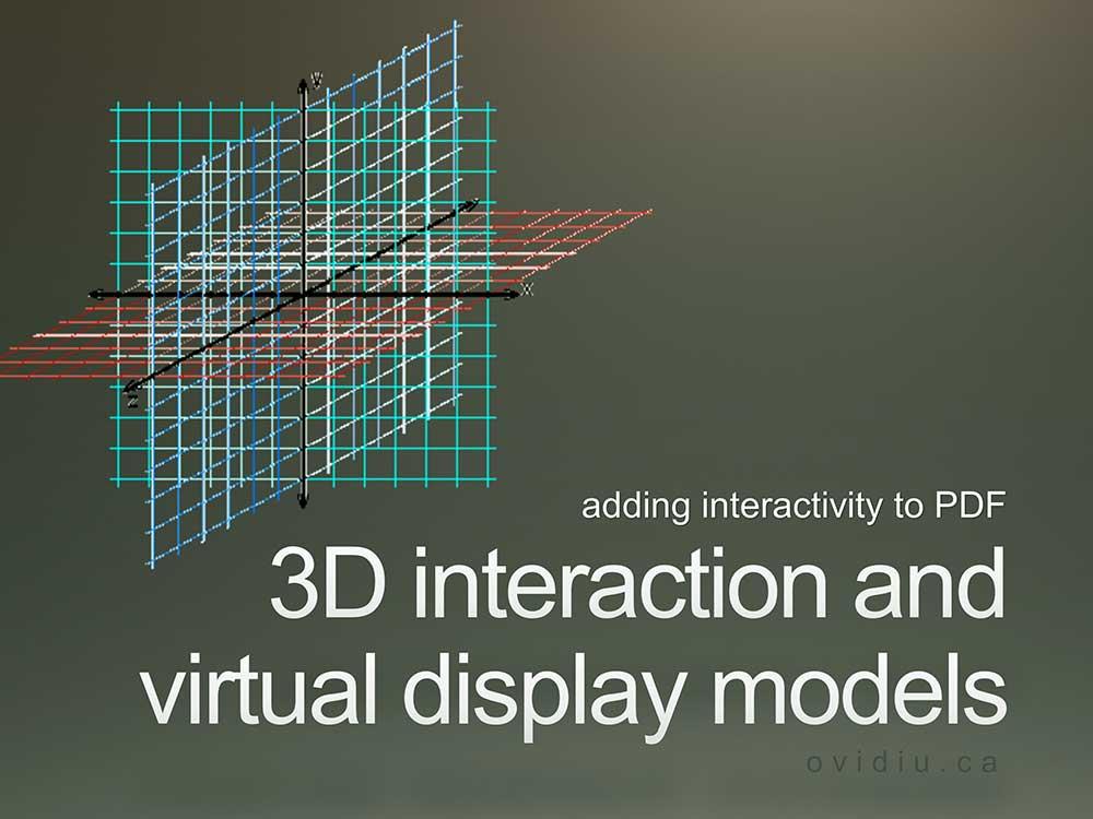 3D PDF interactive by Ovidiu Ciobanu